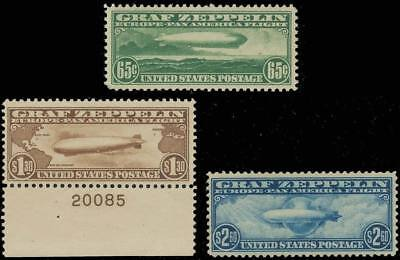 C13-15 VF OG NH SET, C14 W/PL#20085  Cat $2325.00    LB