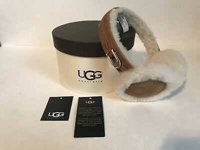 UGG WOMEN SHEARLING EARMUFF CHESTNUT with original box and tags