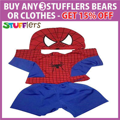 Spidey Clothing Outfit by Stufflers – Fits Medium Sized 40cm Plush Toys