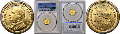 1903 La. Purchase - McKinley $1 Gold Commemorative PCGS MS-67+ CAC
