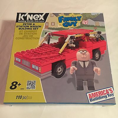 k'nex model FAMILY GUY building set - PETER & STATION WAGON - free shipping NEW