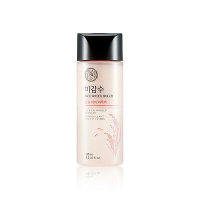 [THE FACE SHOP] Rice Water Bright Lip & Eye Remover 120ml - BEST Korea Cosmetic