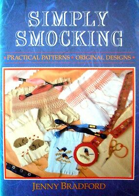 SIMPLY SMOCKING by Jenny Bradford - Practical Patterns & Original Designs