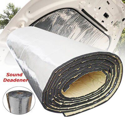 78''x39'' 10mm Sound Deadener Car Heat Shield Insulation Deadening Material Mat
