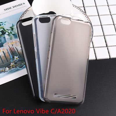Gel TPU Silicone Protective Mobile Phone Back Cover Case For Lenovo Vibe C A2020