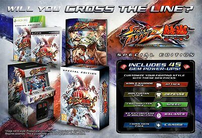 Xbox 360 Street Fighter vs X Tekken Special Collectors Edition Game NEW