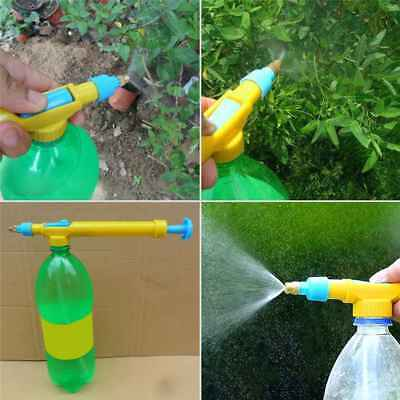 Pressure Water Pump Spray Bottle Trolley Garden Mini Manual Sprayer Plastic