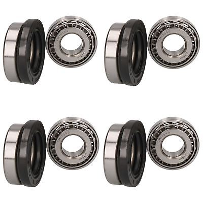 4 Trailer Taper Roller Bearing Kit Set for Meredith And Eyre 203mm x 40mm Drum