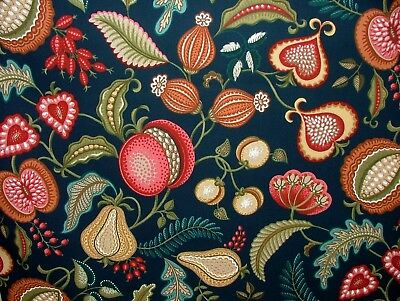 Harvest Indigo Arts And Crafts Curtain Upholstery Quilting Fabric William Morris