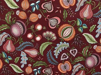 Harvest Mulberry Arts & Crafts Curtain Upholstery Quilting Fabric William Morris