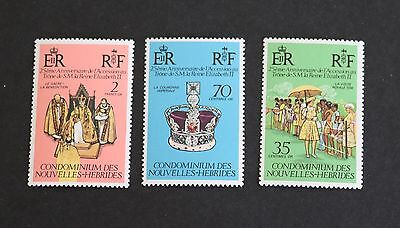 New Hebrides French 1977 Silver Jubilee MNH UM unmounted mint bb