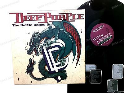 Deep Purple - The Battle Rages On... Europe LP 1993 + Innerbag /4
