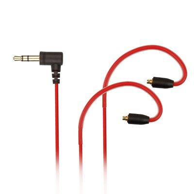 RED Replacement Audio Cable for Sony XBA-N1AP HD Earphones MMCX Headphones