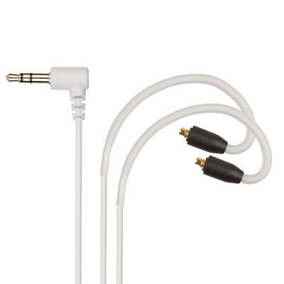 WHITE Replacement Audio Cable for Sony XBA-N1AP HD Earphones MMCX Headphones