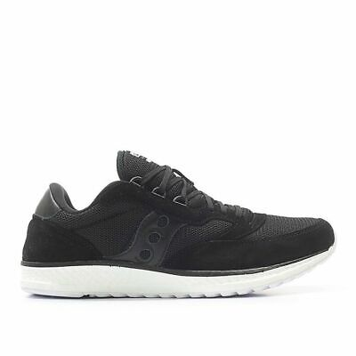 Details about Saucony Originals Freedom Runner Black Everun Leather Running Shoes S70394 1