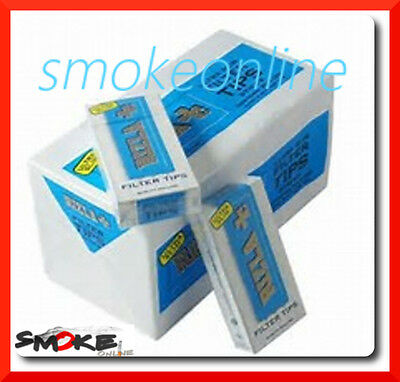 2400 Filtri Rizla ULTRASLIM Slim 5,7 mm 20 scatole da 120 per cartine