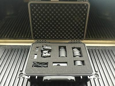 "16""1/2 New Black Weatherproof Equipment Case (Pelican 1500 Equivalent)"