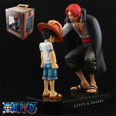 Anime ONE PIECE A Prize Memories Luffy Red Shanks shankusu PVC Figure Toy in Box