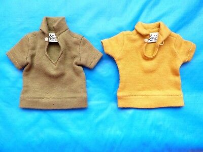 Vintage Ken Lot Of 2 Polos From 1960's