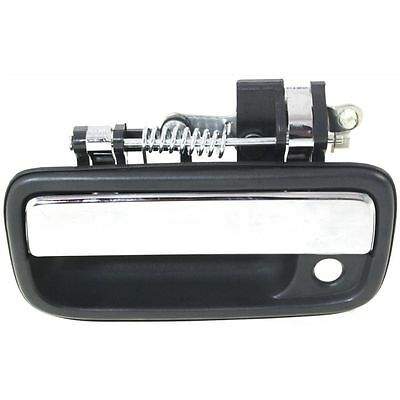 For Toyota Tacoma 95-04 Textured Black Front Outer Door Handle With Keyhole LH