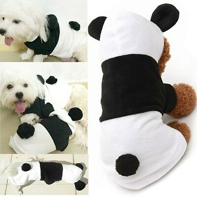 Dog Cat Cute Hoodie Costume Clothes Pet Winter Warm Jacket Coats Puppy Apparel