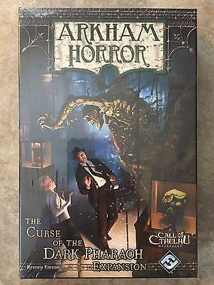Arkham Horror - The Curse of the Dark Pharaoh (Revised) Expansion Board Game NEW