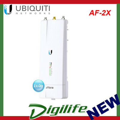 Ubiquiti AirFiber 2X 500Mbps+ 2.4Ghz Carrier Backhaul Radio - 200+ KM