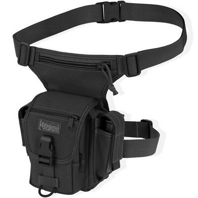 Maxpedition Thermite Versipack BLACK Single Shoulder Leg Strap Waist Bag