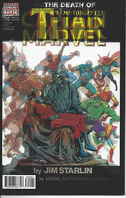 MIGHTY THOR #700 Death of Captain Marvel Lenticular Cover NM MARVEL EXCELSIOR