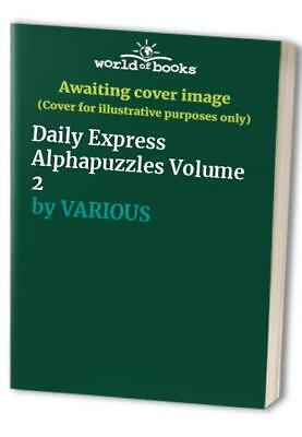 Daily Express Alphapuzzles Volume 2 by VARIOUS Paperback Book The Cheap Fast