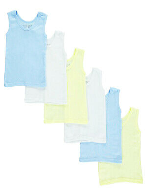Bambini Baby Boys' 6-Pack Tank Tops