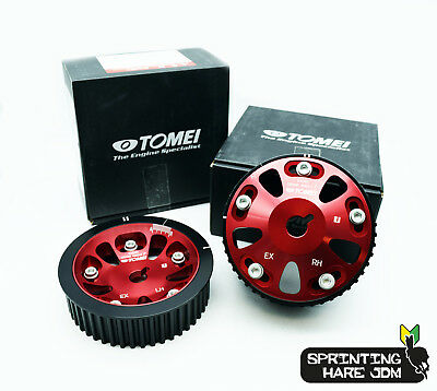 Tomei Adjustable Single AVCS Camshaft Pulley Set Fits: Subaru Impreza GDB STi EJ