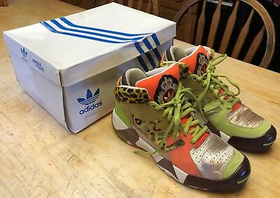 RARE Mens Adidas Jeremy Scott JS Streetball Shoes G50727 Size 10 (WITH Box) 199d9cea1