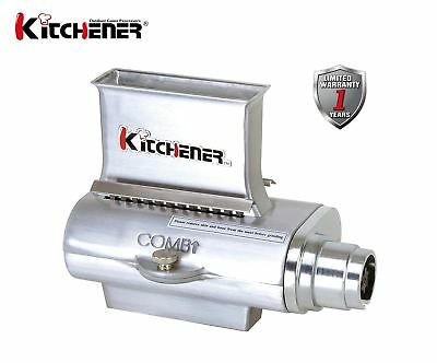KITCHENER Heavy Duty Commercial Grade Electric Stainless Steel High HP Meat G...