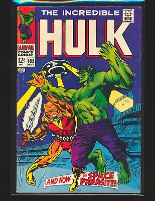 Incredible Hulk # 103 VG/Fine Cond.