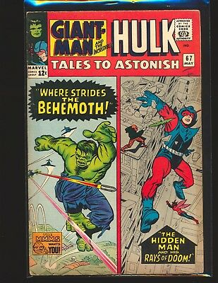 Tales To ASTONISH # 67 VG/Fine Cond.