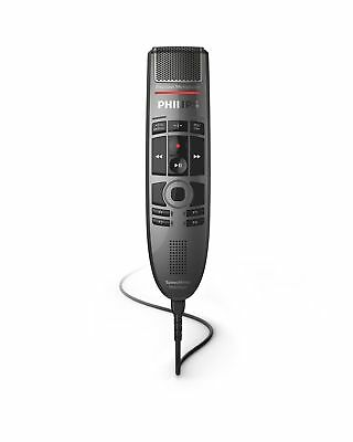 Philips SMP3700 SpeechMike Premium Touch Precision USB Microphone - Push Butt...