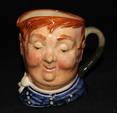 "Royal Doulton Character Toby Jug FAT BOY 4"" Tall D5840"