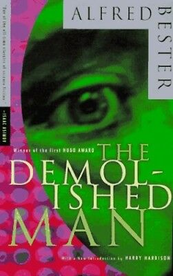 The Demolished Man by Bester, Alfred Paperback Book The Cheap Fast Free Post