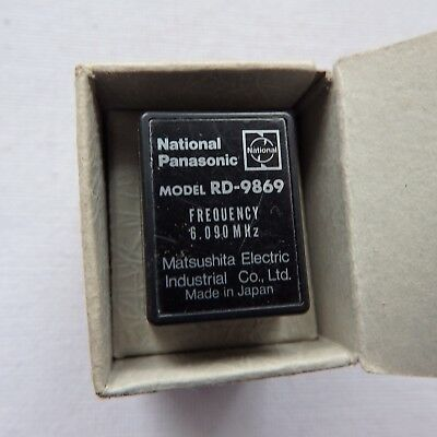 National Panasonic Crystal RD-9869 - made in Japan - NOS - OVP