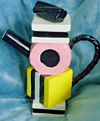 Paul Cardew Large Sweet revenge allsorts Limited Edition teapot 1998