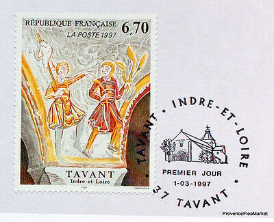 Yt 3049 TAVANT INDRE AND LOIRE FRANCE FDC NOTICE PHILATELIC PREMIER DAY