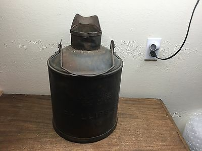 Vintage/ Antique  Phillips 66 metal 5 gal. oil can/ bucket ~ Butler MFG. Co.