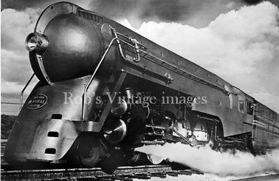 New York Central photo Steam Bullet Locomotive J3A  5453 Hudson  NYC Railroad