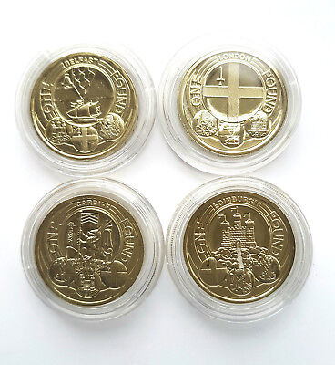 1983 - 2019 £1 BUNC Brilliant Uncirculated One Pound Coins Choice Of Year