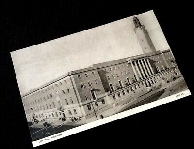 Carte Angleterre Norwich.Carte Postale Ancienne Norwich City Hall Eur 3 99 Picclick Fr