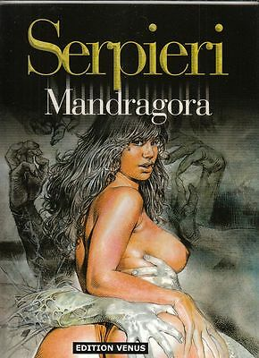 Serpieri Mandragora Softcover Comic-Album in Topzustand !!!