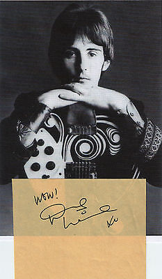 Denny Laine signed!