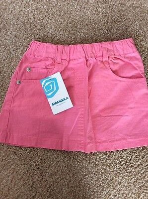 BNWT Girls Pink Skirt By Girandola (18 Months) **FREE UK P&P**
