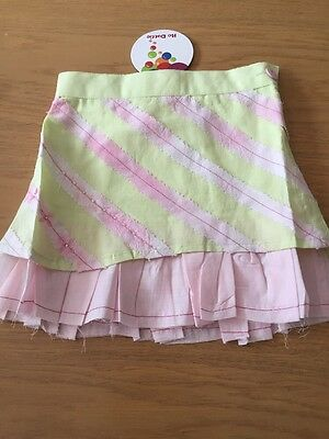 BNWT Girls Diagonal Design Skirt By Be Dottie (12-24 Mths) *FREE UK P&P*